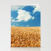 Wheat Fields Forever Stationery Cards
