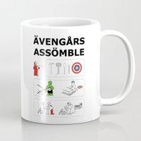 Superheroes Assembling - Colour Mug