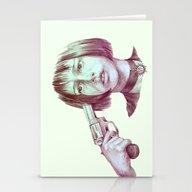 Leon - Mathilda  Stationery Cards