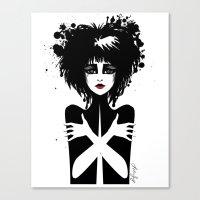 Siouxsie Sioux Canvas Print