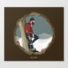 Lumberjack Canvas Print
