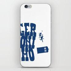 Geronimo Doctor Who iPhone & iPod Skin