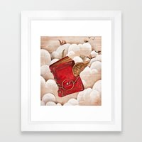 Book Heaven Framed Art Print