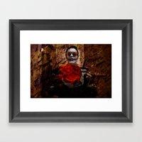 Burning Desires Of Broke… Framed Art Print