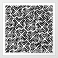 tiled tiled tiled  Art Print