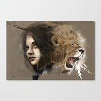 Kingdom Of Beauty Canvas Print