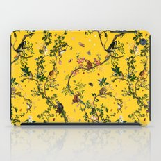 Monkey World Yellow iPad Case