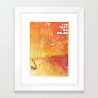 The War On Drugs - Lost In The Dream Framed Art Print