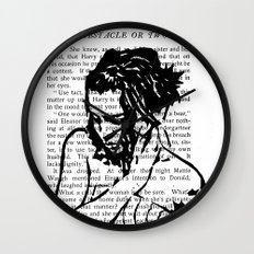 An Obstacle or Two Wall Clock