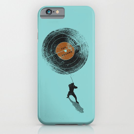 Record Breaker iPhone & iPod Case