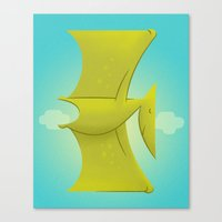 Pter Canvas Print