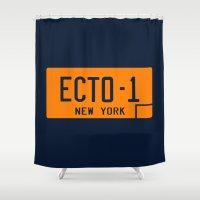 Ecto-1 Shower Curtain
