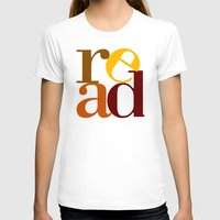 read love Womens Fitted Tee White SMALL