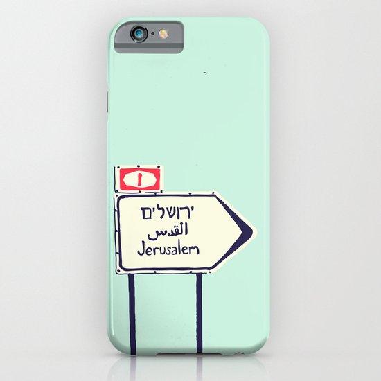 Jerusalem This Way iPhone & iPod Case