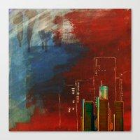 Death Of Detriot - Skyli… Canvas Print