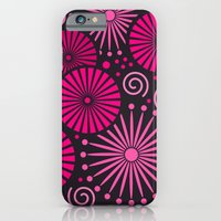 Pink Retro Abstract iPhone 6 Slim Case