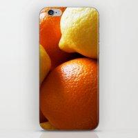 Oranges & Lemons iPhone & iPod Skin