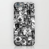 CHRISTMAS CATS iPhone 6 Slim Case