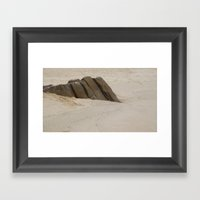 Rest Rock Framed Art Print