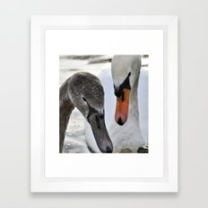 Mother and son 2 Framed Art Print