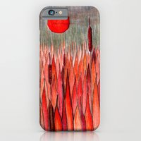Sunset Over The Cattail … iPhone 6 Slim Case