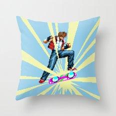 The most epic kickflip Throw Pillow