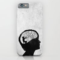 iPhone & iPod Case featuring Musarañas (black and white) by Seamless