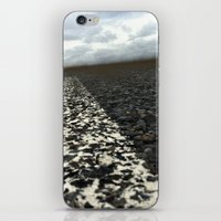 dirt roads iPhone & iPod Skin