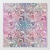 Theta Print-Pastel Canvas Print