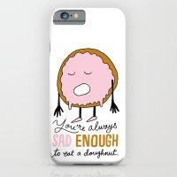 Sad Doughnut iPhone 6 Slim Case