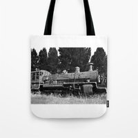 End Of The Line. Tote Bag