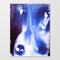 Liquid Blue Canvas Print