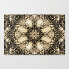 Lacy Mosaic - Fractal Art Canvas Print