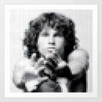 JM Pixel Photo Art Print