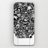 box of goodies iPhone & iPod Skin