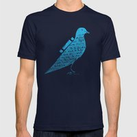 The Original Tweet No.3 Mens Fitted Tee Navy SMALL