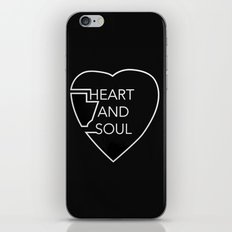 Heart And Soul - Twin At… iPhone & iPod Skin