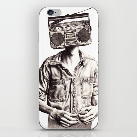 Radio-Head iPhone & iPod Skin