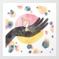 Helping Hand Art Print