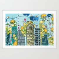 Livin' In The City  Art Print