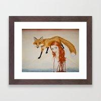 Slink Framed Art Print