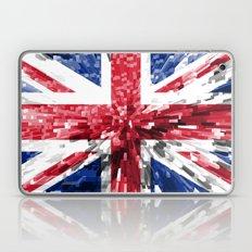 Britain Flag - Extrude Laptop & iPad Skin