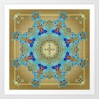 Mix&Match Byzantine Mosa… Art Print