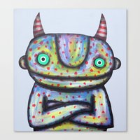 Devil With Good Intentio… Canvas Print