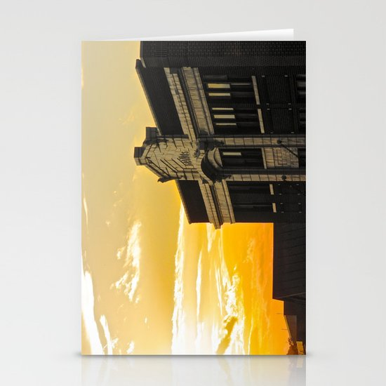 Palace Theatre Sunset Stationery Card