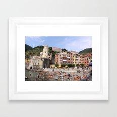 Vernazza Framed Art Print