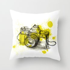Collect Moments Throw Pillow