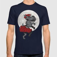 Scotty Dog Mens Fitted Tee Navy SMALL