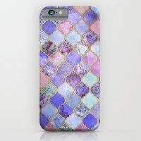 Royal Purple, Mauve & In… iPhone 6 Slim Case