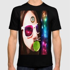 California Seer SMALL Black Mens Fitted Tee
